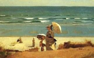 pb14+Winslow+Homer+Detail+On+the+Beach,+Marshfield